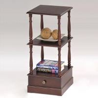 Telephone Stand (2 Shelves, 1 Drawer)