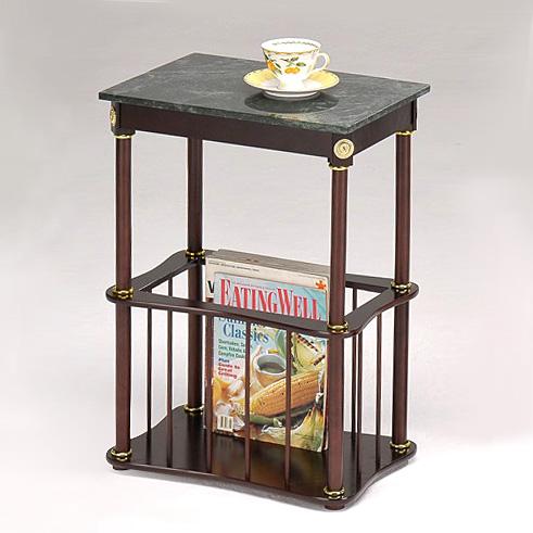 大理石雜誌桌/雜誌邊桌