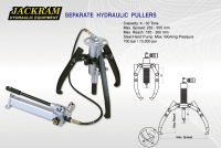 Separate Hydraulic Pullers