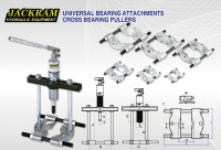 Universal Bearing Attachments Cross Bearing Pullers