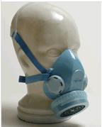 Single Cartridge Twin Exhaust Valves Mask