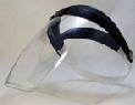 头戴式PC透明安全面罩