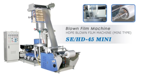 Hdpe Blown Film Machine (Mini Type)