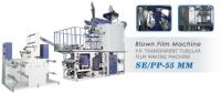 P.P. Transparent Tubular Film Making Machine