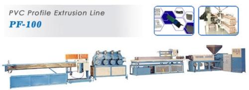 PVC Profile Extrusion Lines