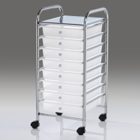 8-layer storage cart with PP drawers