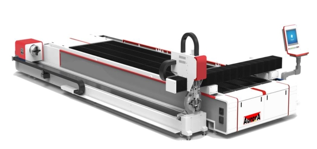 1000-12000w ST series 3015 plate cutting tube fiber laser cutting machine