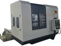 CNC horizontal axis round table surface grinder