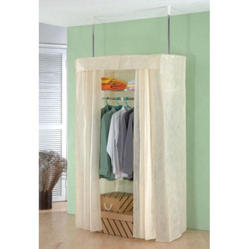 Ceiling-to-Floor Closet Rack
