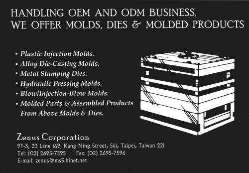 Molds, dies