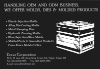 Cens.com Molds, dies ZENUS CORPORATION