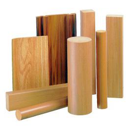 PVC Foamed Wood Grainy Rattan