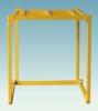 Inverted stackable frame