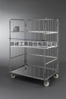 Stainless Steel Logistics Trolley