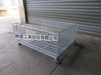 S-0074 Collapsible Wire Mesh Container