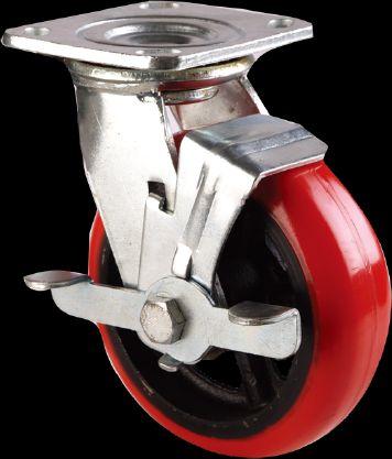 PU Wheel (Swivel Brake Style)