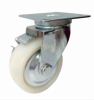 Nylon Caster (Swivel Side brake Style)