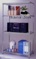 Sample of wire shelf / wire storage shelves usage