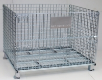A-7 Manual-foldable wire containers