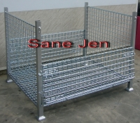 Logistics Steel Mesh Containers