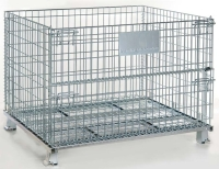 AS-7 Manual-foldable wire containers