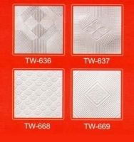 PVC ceiling foil, PVC foil, PVC facing for ceiling tile, PVC Laminate, Embossed PVC Sheet for Ceilin