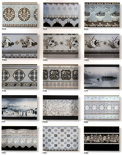 Self-adhesive Sheet for Window Decoration