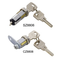 13 Pin Kaba Key System, Cam8  Switch Lock