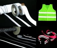 反光带、反光织带、反光弹性织带、纺织辅料