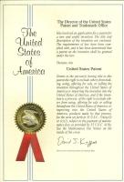 美國發明專利證書
