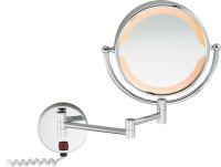 感应式化装壁镜