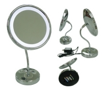 LED Lighted Magnifying Mirror