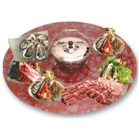 Shabu Shabu (Hot Pot) W/Swing Glass Table