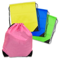 Opaque Drawstring Backpack