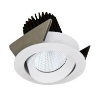 WHITE BLACK RECESSED CRI80 EPISTAR 7W COB LED DOWNLIGHTS