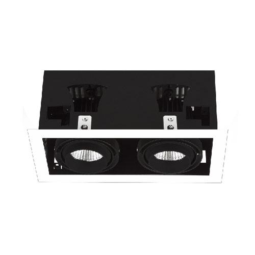 2 SPOT GIMBAL CREE OR EPISTAR 50W COB LED DOWNLIGHT