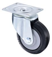Heavy Machine Moving Heavy Duty Roller Rubber Wheels 8 inch