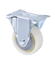 Nylon 125mm Swivel Top Plate Industrial Chrome Casters