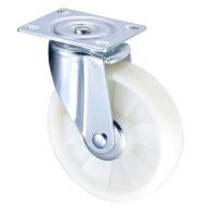 Front Brake Nylon 5 inch Wheel Industrial Castor with Bracket