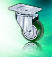 Polyurethane Small Swivel 3 inch Caster with One Way Bearing