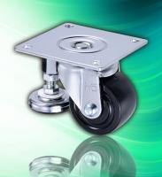 2017 Hot Sale Nylon 3 inch Adjustable Caster Wheels