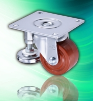 3 Top Plate Phenolic Leveling Height Adjustable Machine Caster