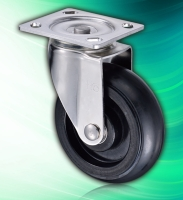 6x2 inch Rubber Swivel Industrial Large Stainless Steel Casters