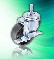 3 inch Screw Scaffold Iron Cast Wheel with Side Brake