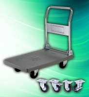 Cens.com Heavy Duty Industrial 300kg platform trolley HO CASTER INDUSTRIAL CO., LTD.
