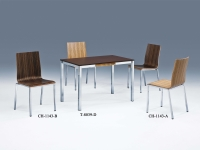 Dining table, wood table, steel table, working table