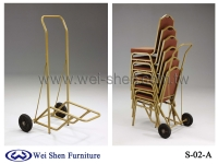 Chair Trolley, Banquet Chair Trolley, Hotel Metal Trolley