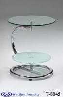 小茶几,活動式小咖啡桌,玻璃桌
