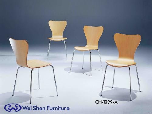 餐椅、椅子、曲木餐椅、堆叠椅、