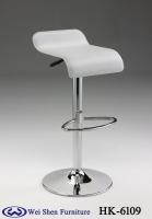 Hard PVC Barstool, Chrome Bar stool, Barstools, low back bar stool